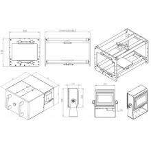 Термо трансферен принтер  107mm * 125mm