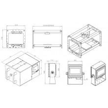 Термо трансферен принтер 107mm * 75mm