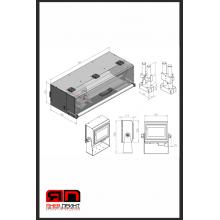 SAVEMA 20 Series 32*400 Traverse Thermal Transfer Printers термо трансферен принтер - Траверсен / Подвижен принтер / серия SAVEMA 20 Series 32*400 мм печат